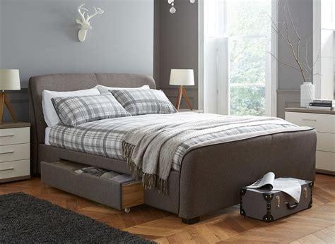 brown upholstered headboard rayner brown tweed upholstered bed frame dreams