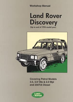 book repair manual 2000 land rover discovery windshield wipe control land rover landrover factory manuals original land rover workshop manual discovery land