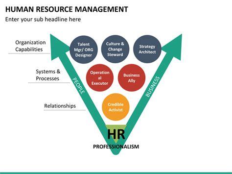 human resource management template human resource management powerpoint template sketchbubble