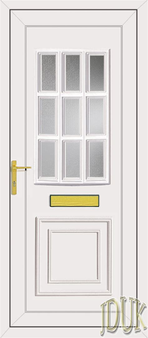 Glazed Front Doors Glazed Upvc Front Door