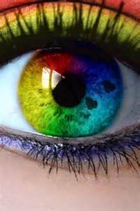 rainbow colored contacts rainbow eye windows to the soul