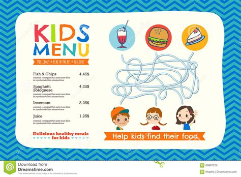 kids menu templates mri service engineer cover letter