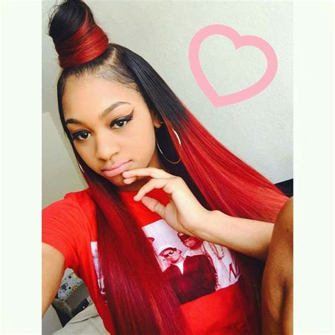 half up and have down pinterest hairstyle weave 25 best ideas about red weave on pinterest red weave