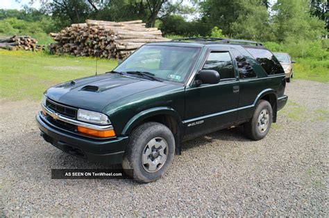 2 Door Blazer by 2002 Chevrolet Blazer Ls Sport Utility 2 Door 4 3l