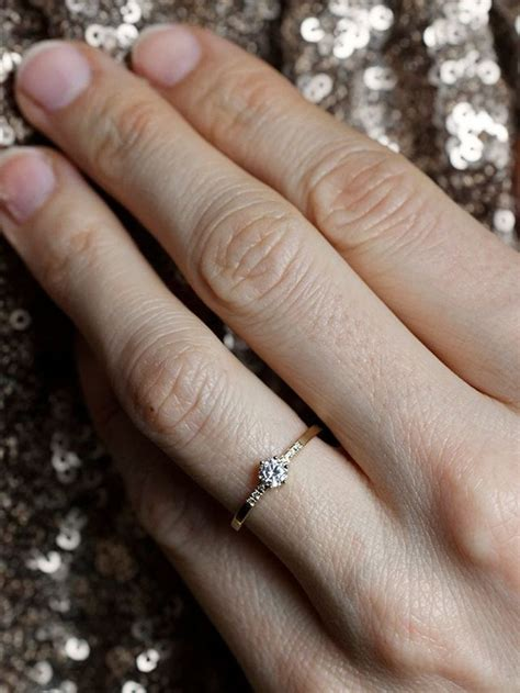 why this is defending 1 4 carat engagement ring