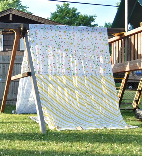 homemade swing sets a swing set tent jennifer rizzo