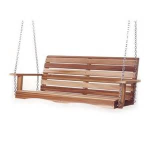 all things cedar ps70u 6 ft porch swing at lowe s canada