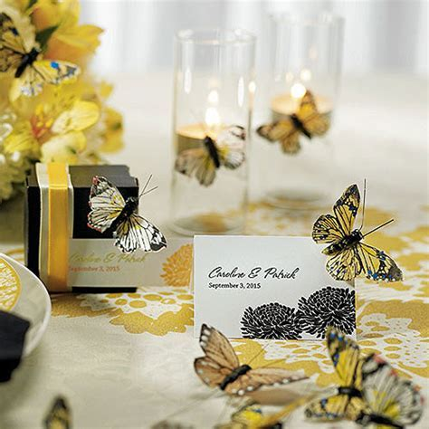 Butterfly Wedding Centerpiece a symbol of rebirth for the