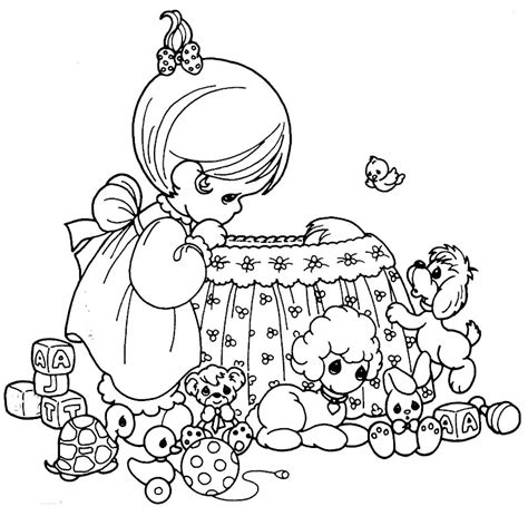 coloring pages precious moments jesus loves me dibujos para colorear e imprimir de preciosos momentos