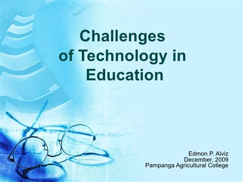 challenges of technology in education