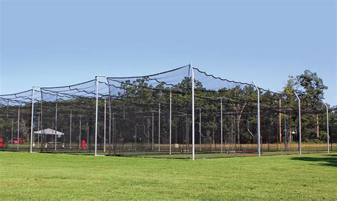 batting cages backyard outdoor batting cage modular system