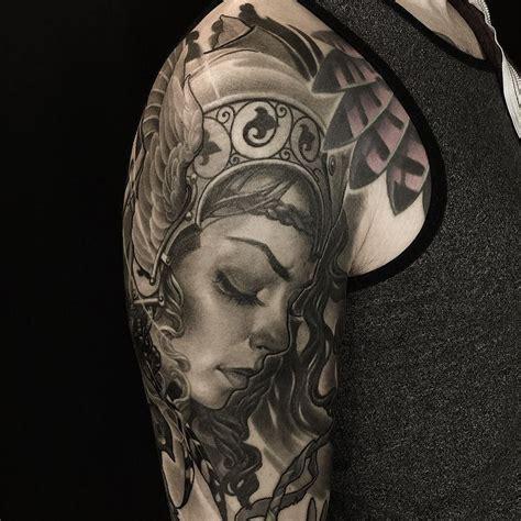 valkyrie tattoo instagram valkyrie sleeve by oleg turyanskiy turyanskiy at off the
