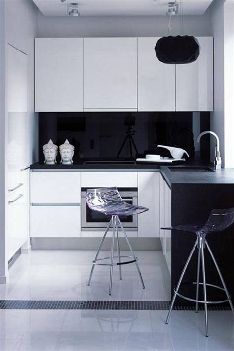 design idea  classic black  white kitchen midcityeast