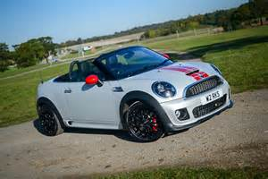 Mini Cooper Jcw Roadster Mini Roadster Cooper Works Review Carwow