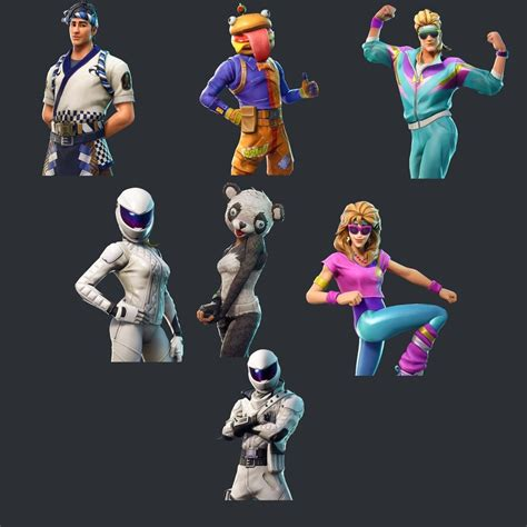 fortnite leaked skins fortnite leaked skins and cosmetics in update 5 20 found