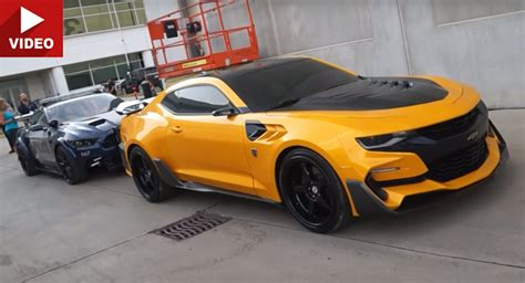 Transformer Auto by Transformers 5 S Bumblebee Camaro Barricade Mustang And