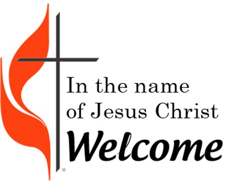 Welcome To Worship Clipart Finders United Methodist Church Powerpoint Templates