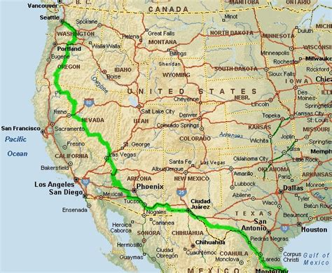 map of southwestern usa road map of the usa free world map