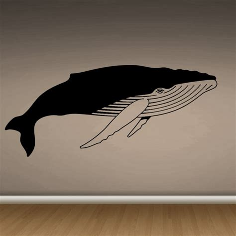 Whale Vinyl Wall whale vinyl wall decals by artollo