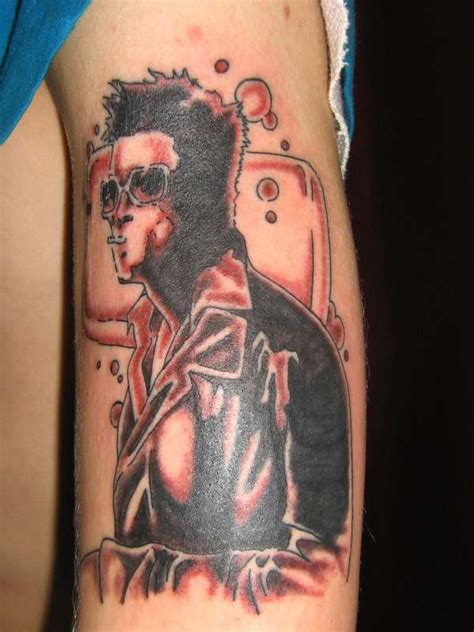 club tattoo body jewelry tyler durden from fight club tattoo