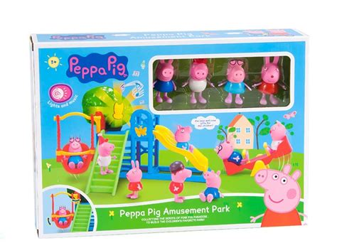 Mainan Peppa Pig Parking A Lot Blue jual pepa pig amusement park with d best toys