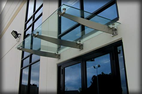 glass awnings canopies dac architectural glass canopies translucent awnings