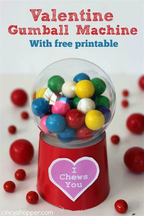 How To Make A Paper Gumball Machine - 14 diy s day gifts your sweetie will actually