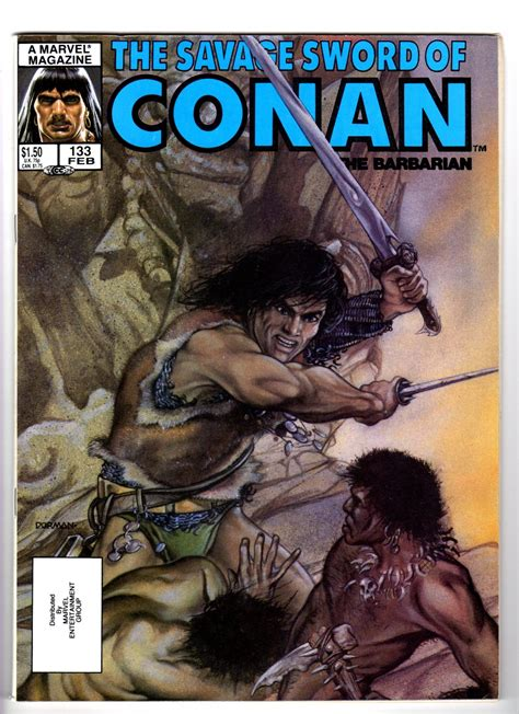 The Savage Sword Of Kull Volume 1 the savage sword of conan the barbarian volume 1 no 133