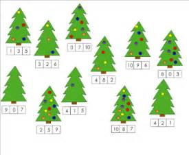 christmas math for kindergarten search results