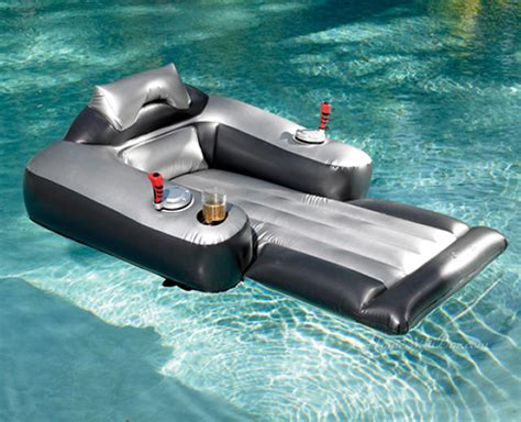 pool float motorized lounge chair pool float