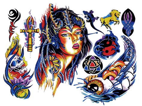colour tattoo designs design for lower back tattoos