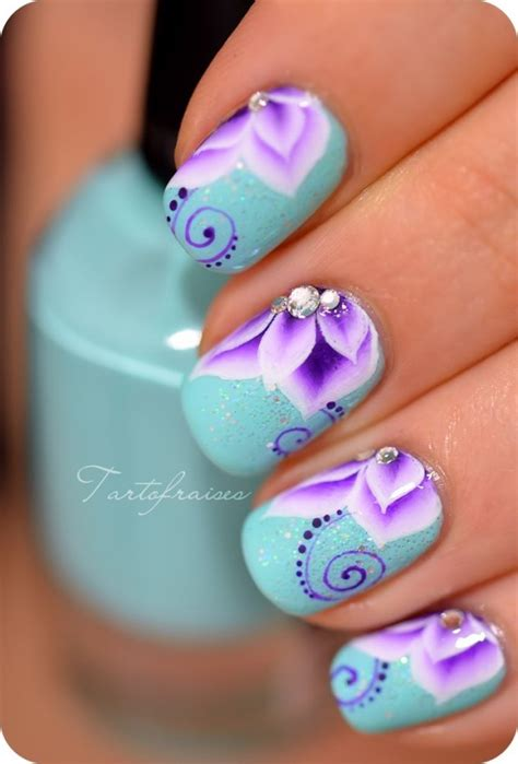 Home Design Trends Spring 2015 by 15 Colorful Flower Nail Designs For Summer 2014 Pretty