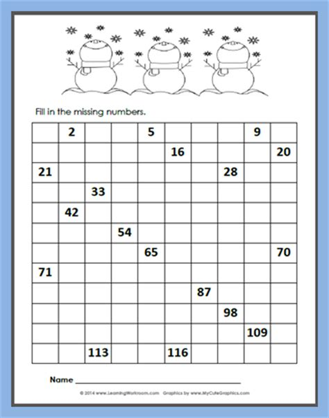 free printable blank hundreds chart to 120 learning ideas grades k 8 free winter 120 chart fill in