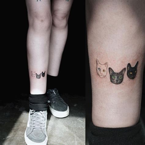 tattoo fixers cat face top 25 best cat face tattoos ideas on pinterest cat
