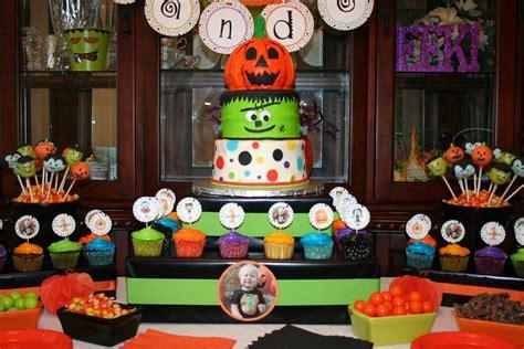 halloween themes birthday halloween first birthday halloween party ideas photo 4