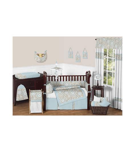 Sweet Jojo Designs Crib Bedding Set Sweet Jojo Designs Hayden 9 Crib Bedding Set