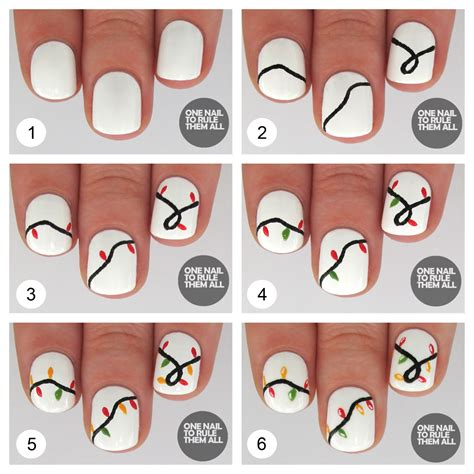 Nägel Lackieren Schnell Und Einfach by One Nail To Rule Them All Tutorial Tuesday Lights