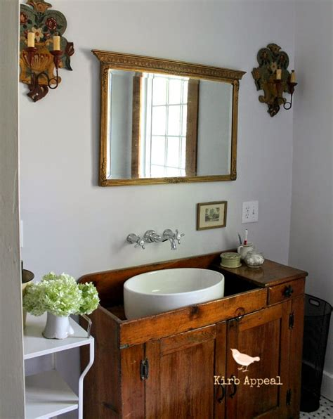 Kirb Appeal Bathroom Reveal Two Down One To Go Funky Bathroom Vanities