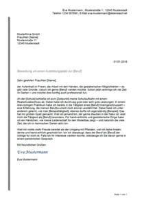 Anschreiben Bewerbung Vorlage Schweiz Bewerbung Ausbildung Tabellarischer Lebenslauf