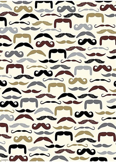 How To Make A Paper Moustache - moustaches sts and patterns