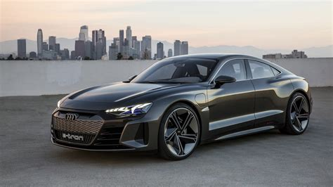 the audi e tron gt is a firm model s competitor can