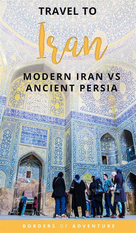 Modern Iran But Still See Ancient Persia Travel To