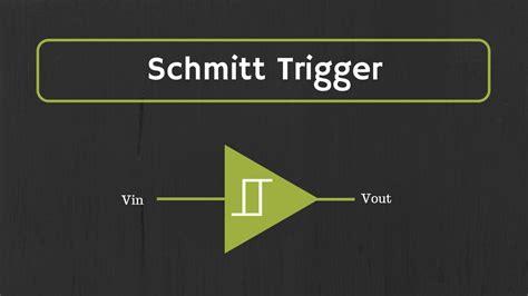 schmitt trigger explained design  inverting