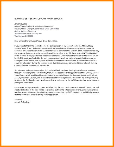 Support Letter Immigration 6 Immigration Letters Of Support Sle Emt Resume