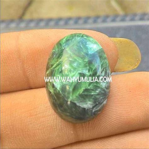 Batu Akik Hitam Disenter Hijau batu akik bulu macan hijau kode 219 wahyu mulia