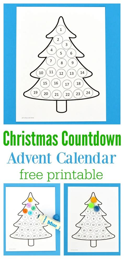 free printable daily countdown calendar christmas countdown advent calendar each day calendar