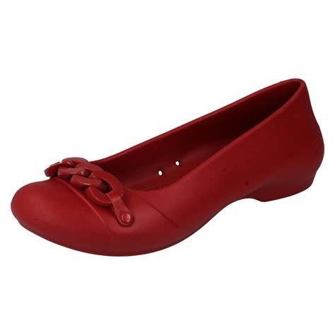 Crocs Link Flat Womens Crocs Link Flat crocs flat shoes label crocs link flat w ebay