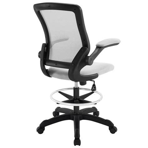 Modway Veer Drafting Stool Chair by Modway Veer Drafting Stool Gray Mw Eei 1423 Gry At
