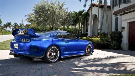 jdm supra blue cars jdm toyota supra tuning vehicles
