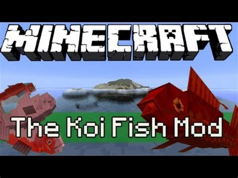 download mod game fishing 1 4 7 koi fish mod download minecraft forum